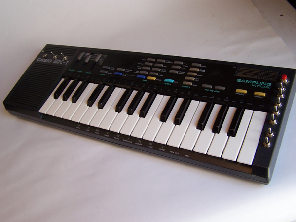 Casio SK1 for Dronehands