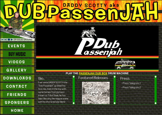 Reggae DJ websites