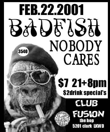 Badfish, Nobody Cares