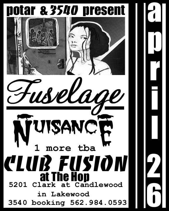 Fuselage, Nuisance
