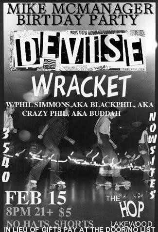 Devise, Wracket