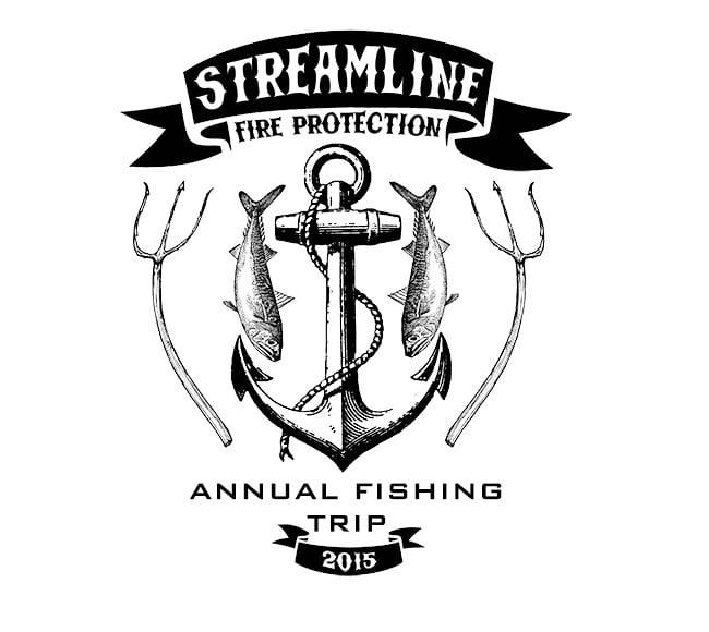 Streamline Fishing Trip design
