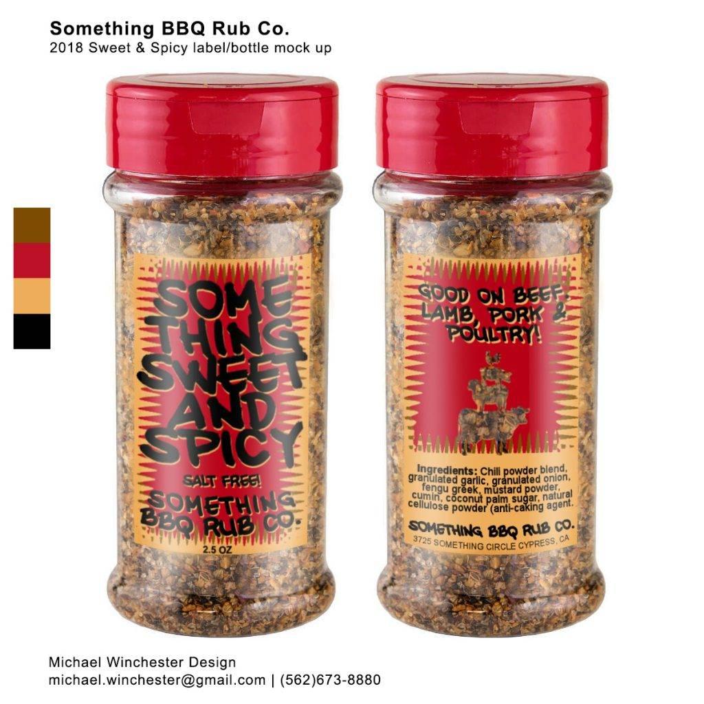 spice label mock up