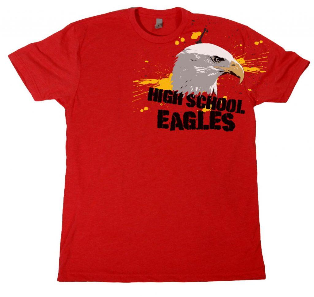 high school eagles design