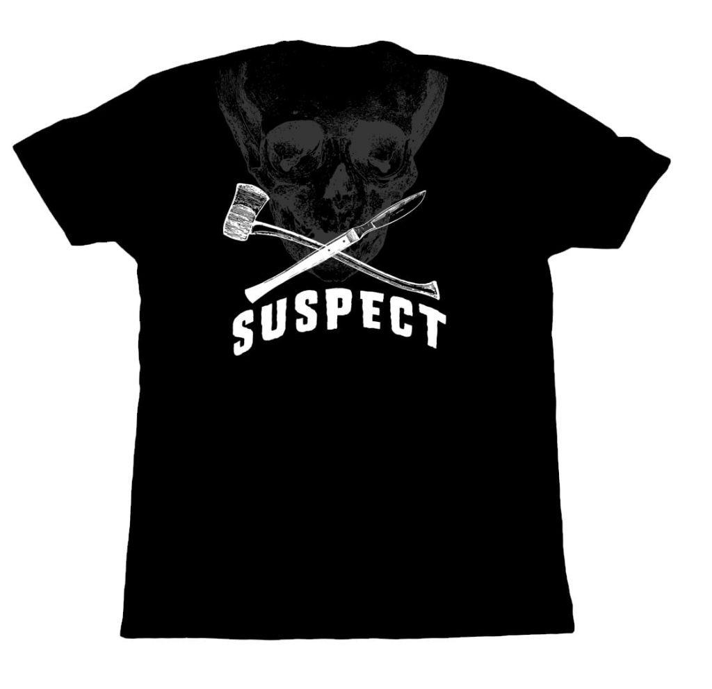 suspect skull and scapel design